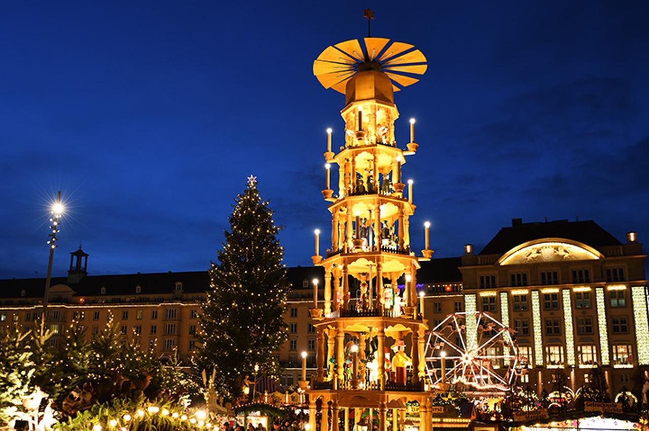 画像: ドレスデンのクリスマス・ピラミッド