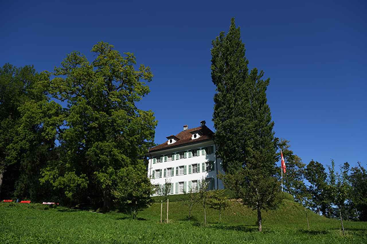 画像: トリプシェンにあるワーグナーの旧別荘