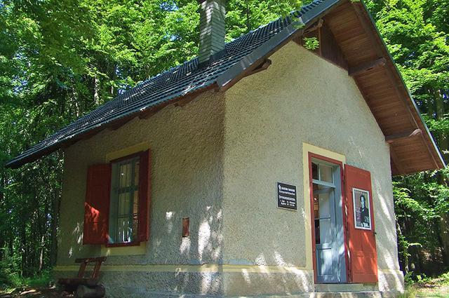 画像: マイヤーニックの作曲小屋