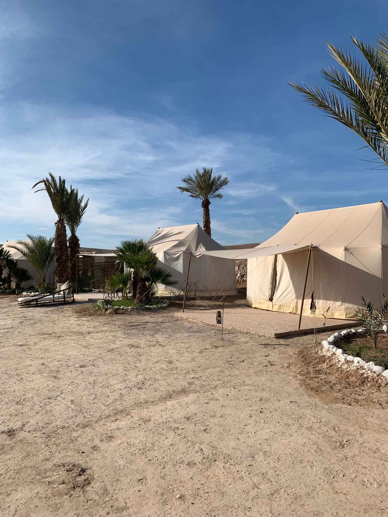 画像: アガファイ砂漠のグランピング施設(イメージ)