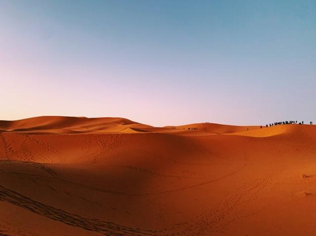 画像: サハラ砂漠(スタッフ撮影/イメージ)
