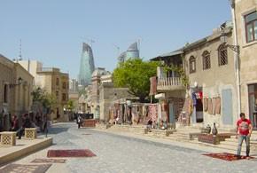 画像: アゼルバイジャン バクーの旧市街(イメージ)