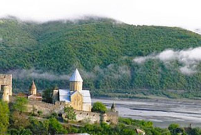 画像: ジョージア アナヌリ教会(イメージ)