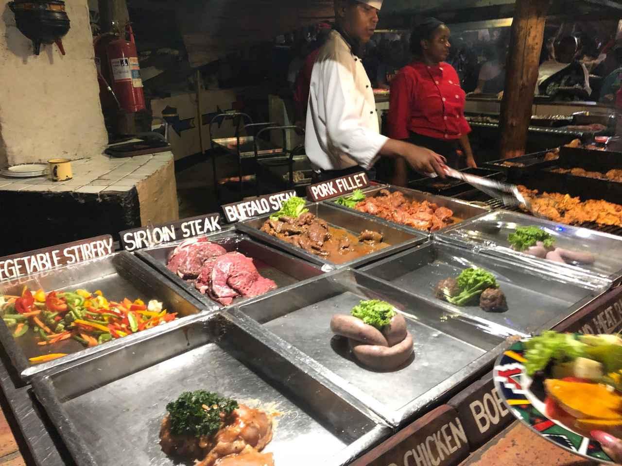 画像: 様々な種類のお肉を楽しめるボマディナー(スタッフ撮影)