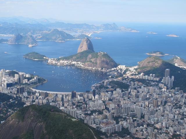 画像: リオデジャネイロ/空撮イメージ