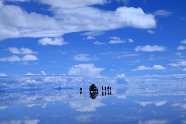 画像: ウユニ塩湖(お客様撮影:東京都在住 市川光男様の作品)