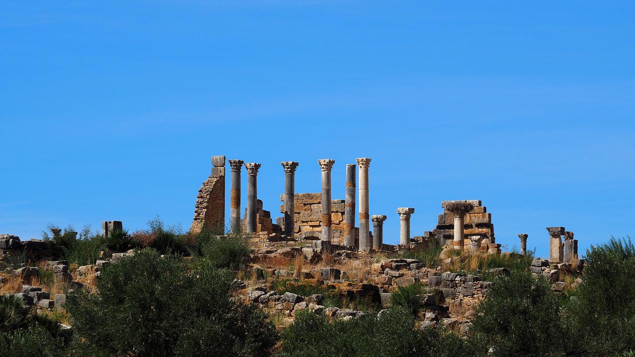 画像: ハマムの遺跡が残る世界遺産ヴォルビリスの古代遺跡(イメージ)