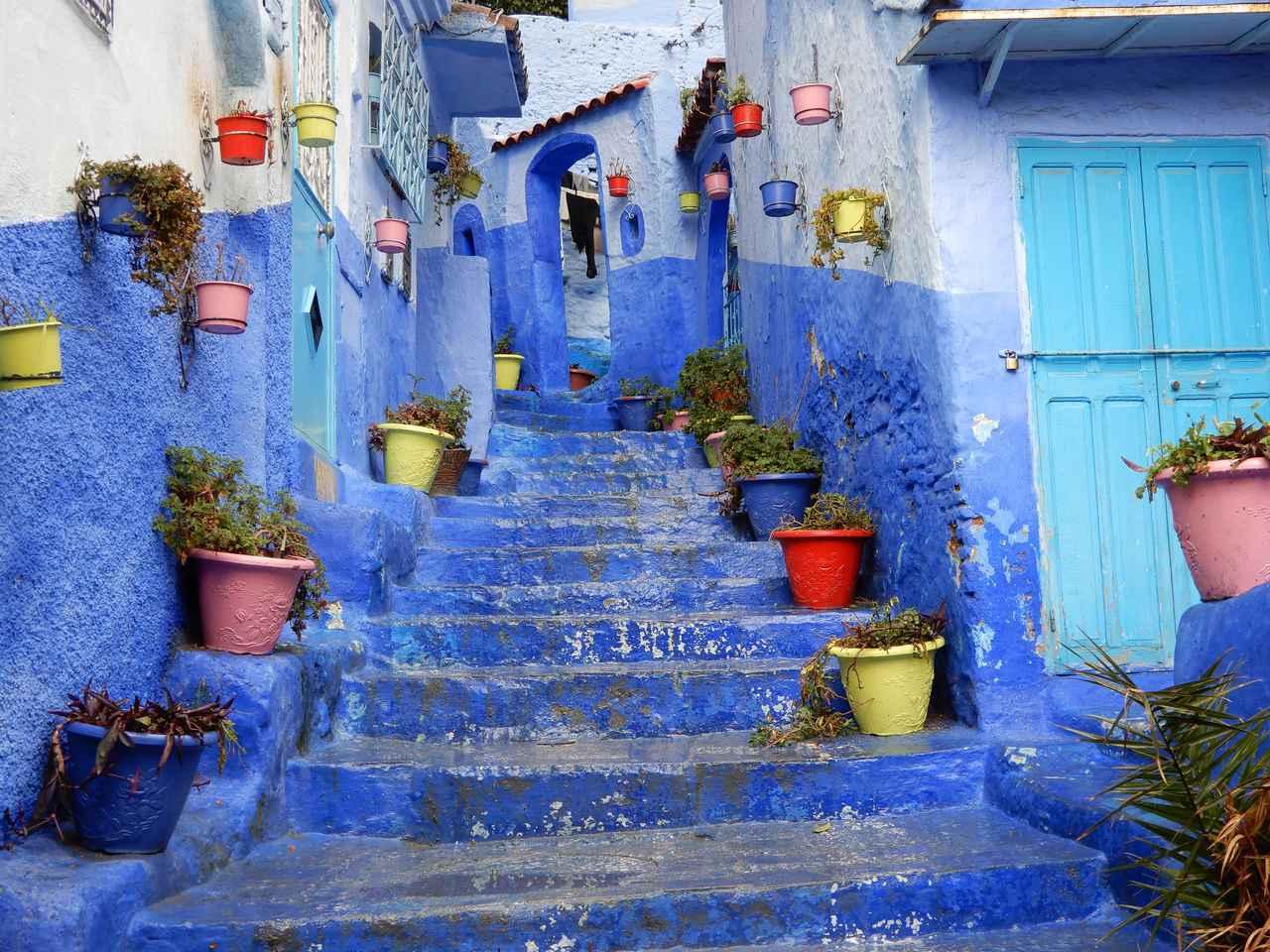 画像: 【モロッコ】青の街シャウエンから生中継♪オンラインツアーを実施しました! - クラブログ ~スタッフブログ~ クラブツーリズム