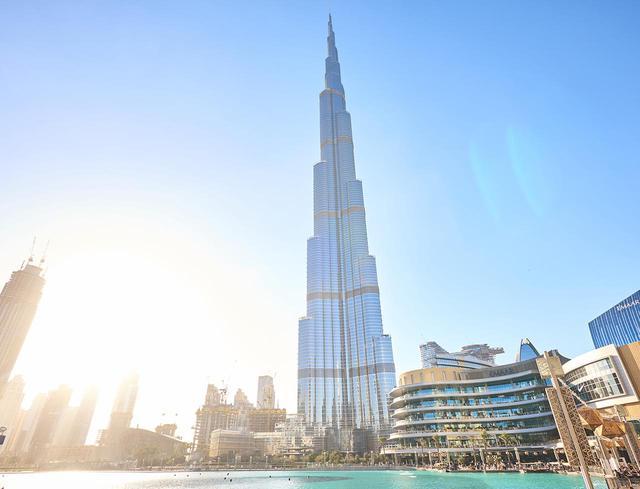 画像: 世界一高いビル・バージュカリファ(イメージ)