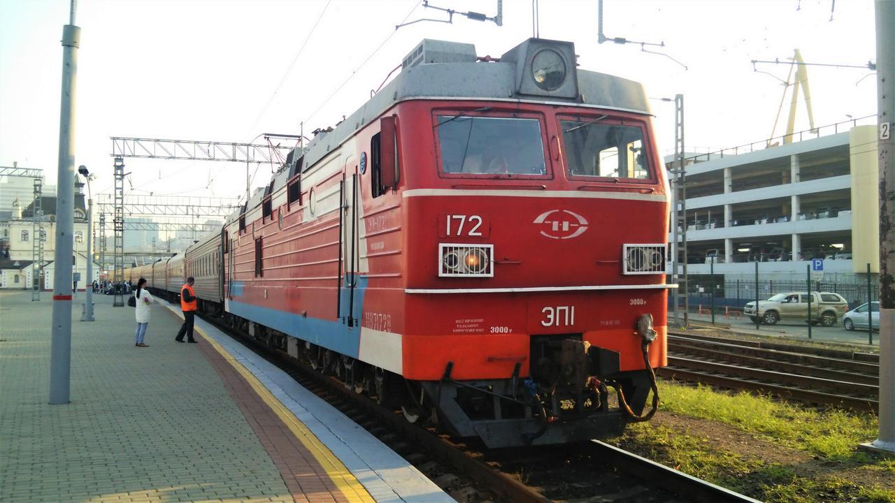画像: シベリア鉄道(イメージ)