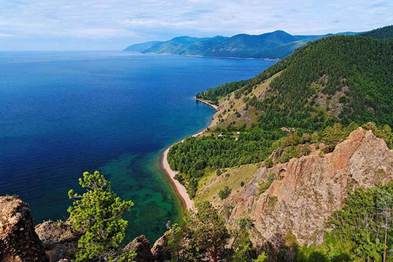 画像: シベリアの真珠 バイカル湖(イメージ)