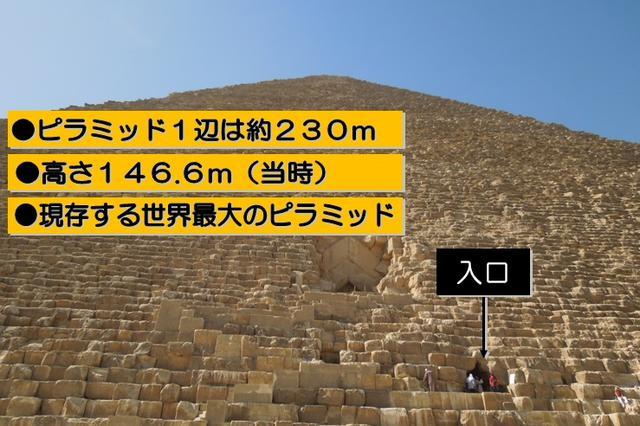 画像: クフ王のピラミッド(イメージ)