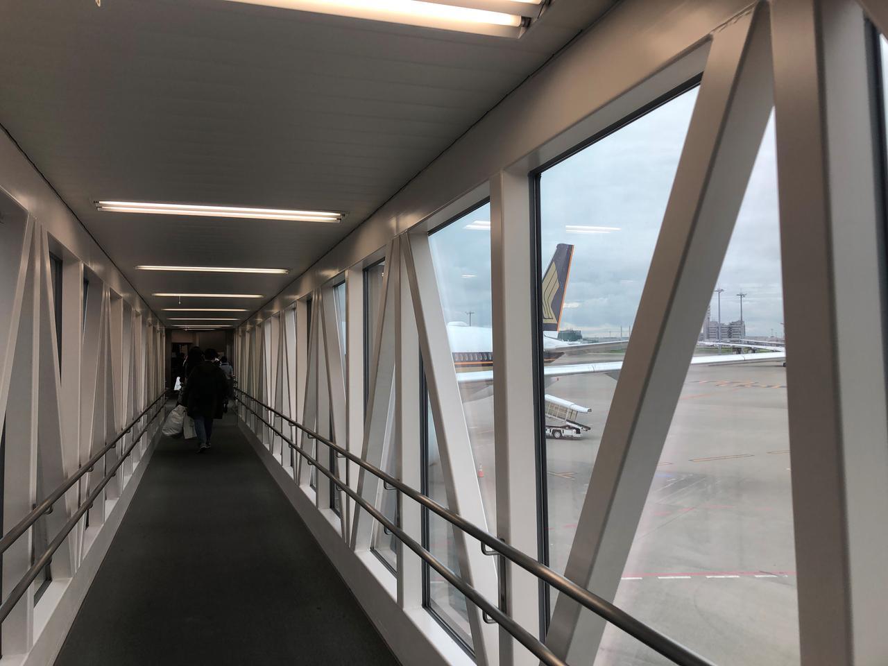 画像: 2018年の世界のベストエアライン第1位にランクインしたシンガポール航空を利用しました(2019年7月 担当者撮影)