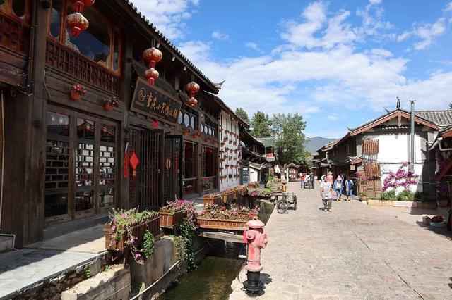 画像: 世界遺産・麗江古城