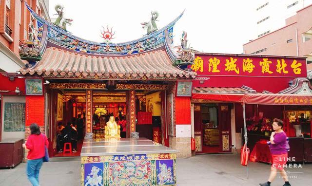 画像: 『霞海城隍廟(しあはいちぇんほあんみゃお)』(弊社スタッフ撮影2019年6月)