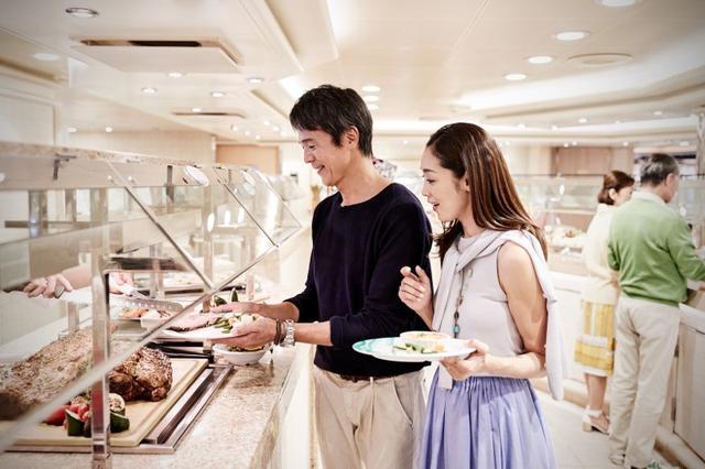 画像: 船内ビュッフェレストラン/イメージ