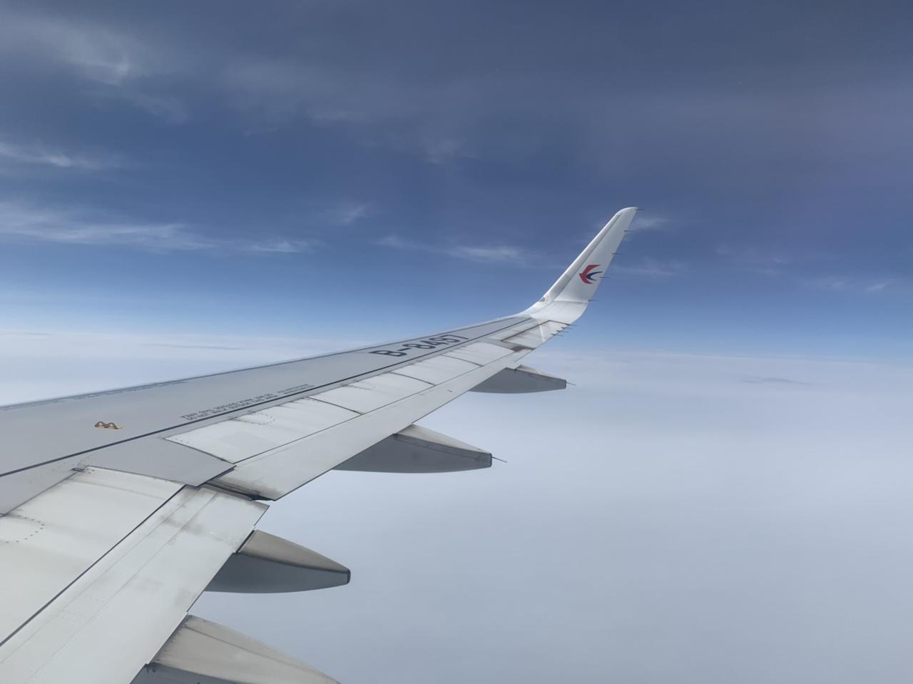 画像: 中国東方航空は名古屋から北京、上海へ直行便がでています 担当者撮影