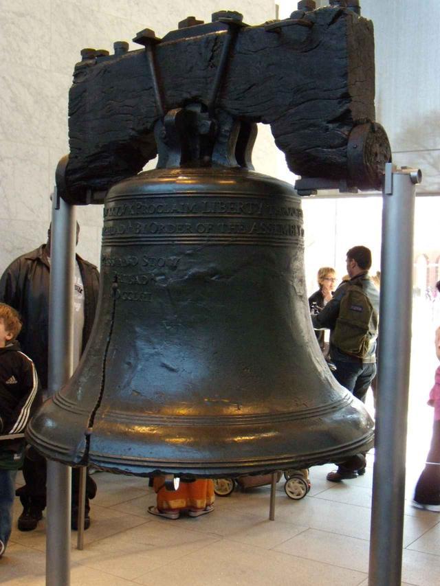 画像: 自由の鐘、19世紀中ごろまで実際に使われていました/弊社スタッフ撮影