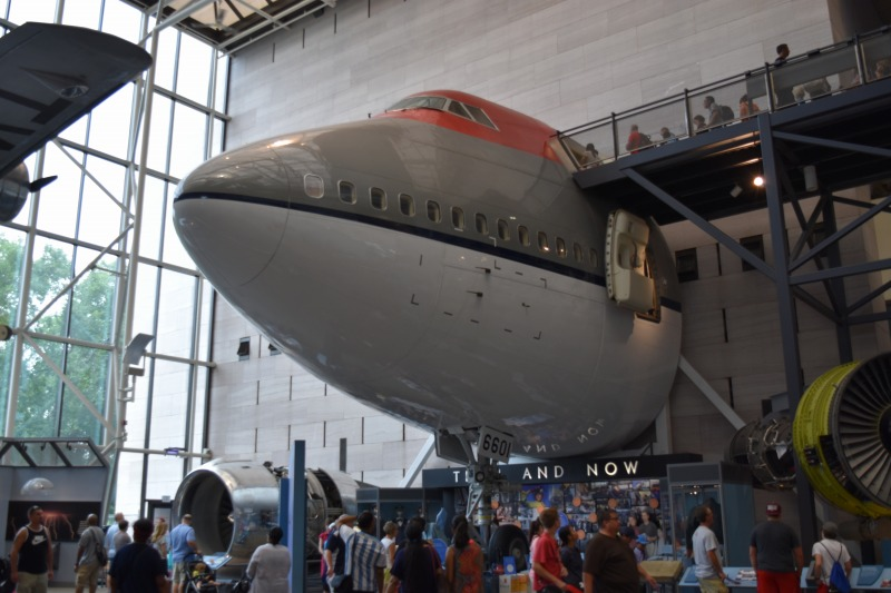 画像: スミソニアン航空宇宙博物館/弊社スタッフ撮影