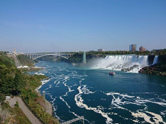 画像: 橋を渡った向こうはアメリカです!/イメージ