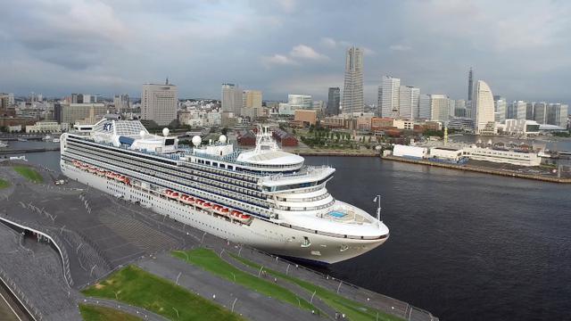 画像: 横浜港に寄港中のダイヤモンド・プリンセス(イメージ)