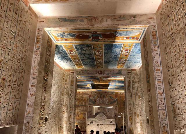 画像2: ラムセス4世の墓(企画担当者撮影/2019年5月)