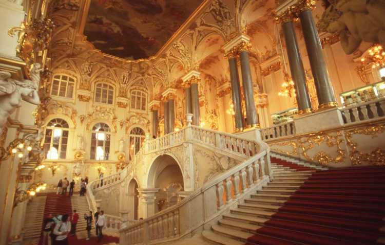 画像: ロシア エルミタージュ美術館 天使の階段