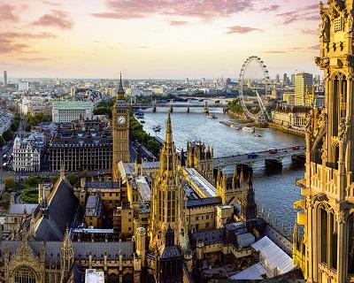 画像: イギリス ロンドンの時計台 ビックベン