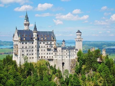 画像: ドイツ 絢爛豪華なノイシュヴァンシュタイン城