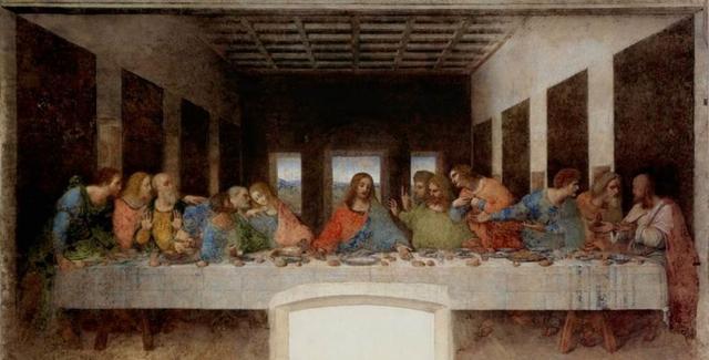 画像: レオナルド・ダ・ヴィンチ作 最後の晩餐