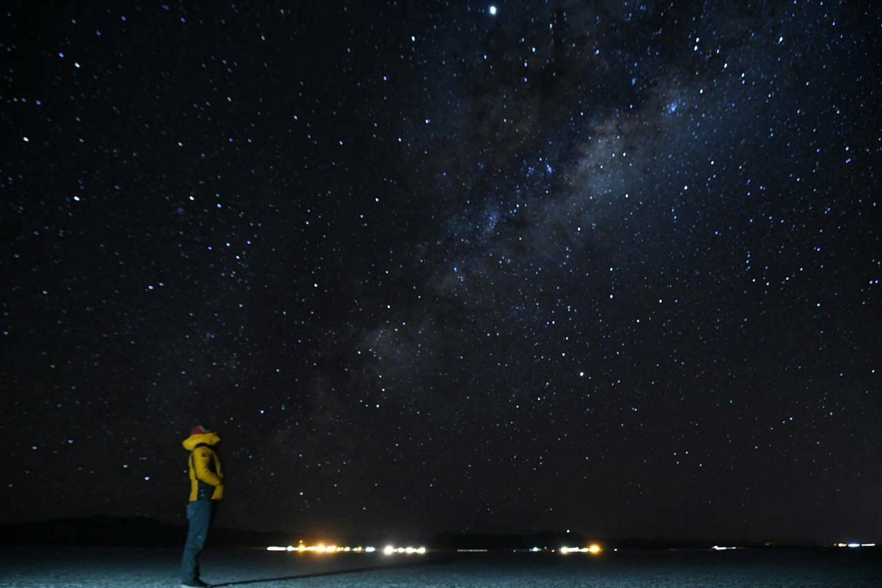 画像: 星空観賞も見所の一つ!