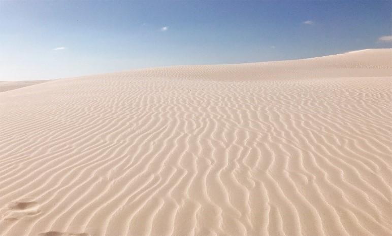 画像: 大レンソイスの砂丘/弊社スタッフ撮影