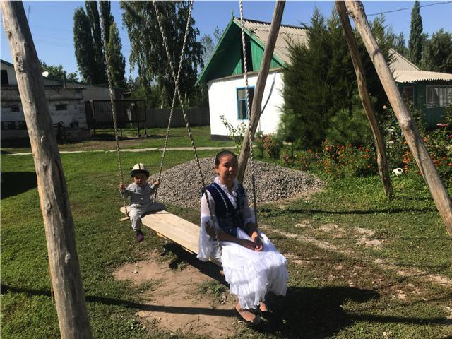 画像: キルギス人の子どもたち 2019年9月弊社スタッフ撮影