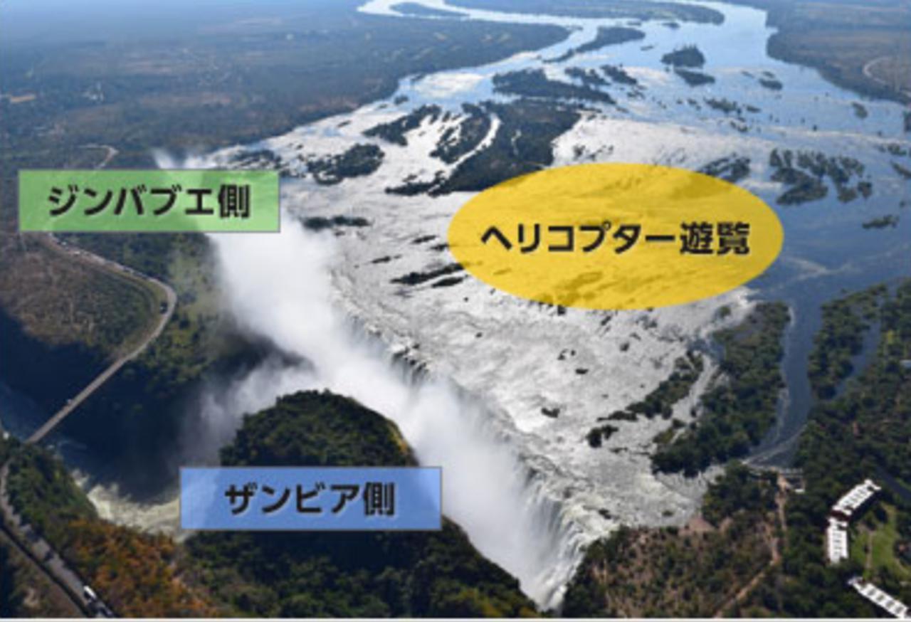 画像: ビクトリアの滝の楽しみ方/弊社のホームページ引用