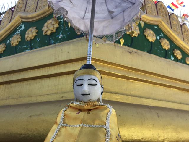 画像: ヤンゴン シュエダゴンパゴダ(2019年4月・弊社添乗員撮影)