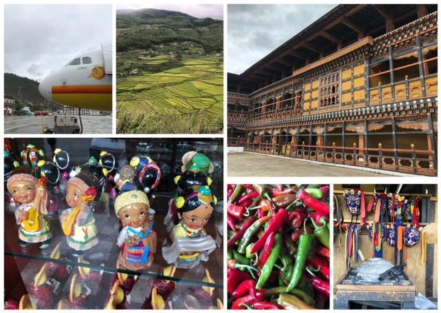 画像: ブータンの風景(2018年9月・弊社添乗員撮影)