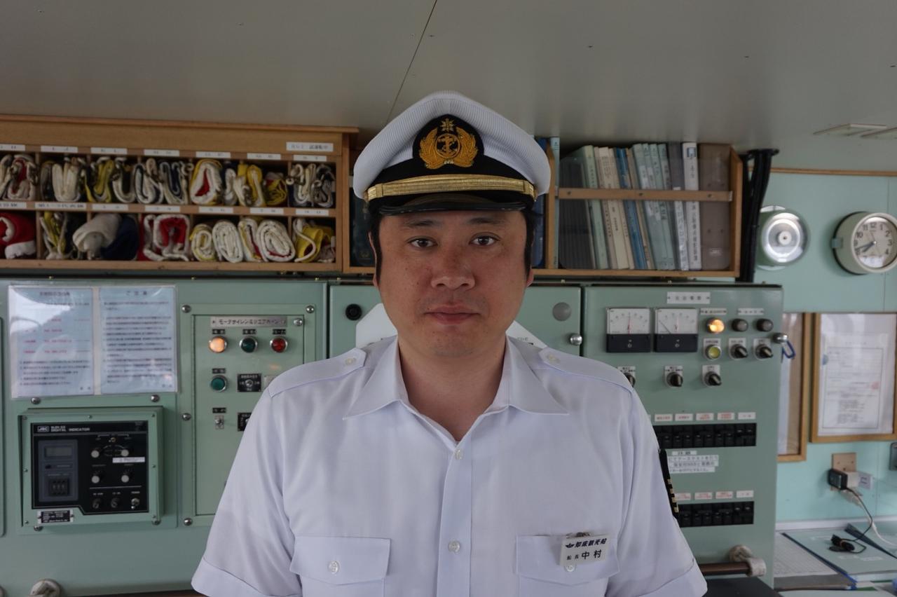 画像: 網走・おーろら号の船長