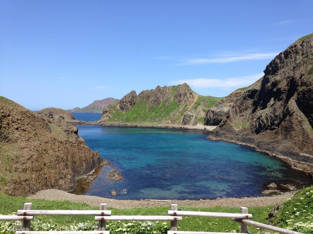 画像: 天気が良ければ青い海を実感できるスポット、礼文島・澄海岬(すかいみさき)