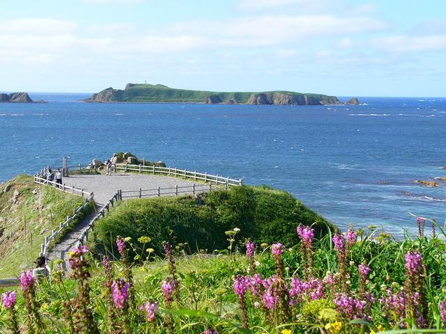 画像: 礼文島最北限の「スコトン岬」(イメージ)