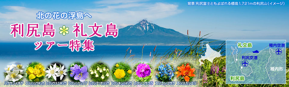 画像: 利尻島・礼文島旅行・ツアー|クラブツーリズム