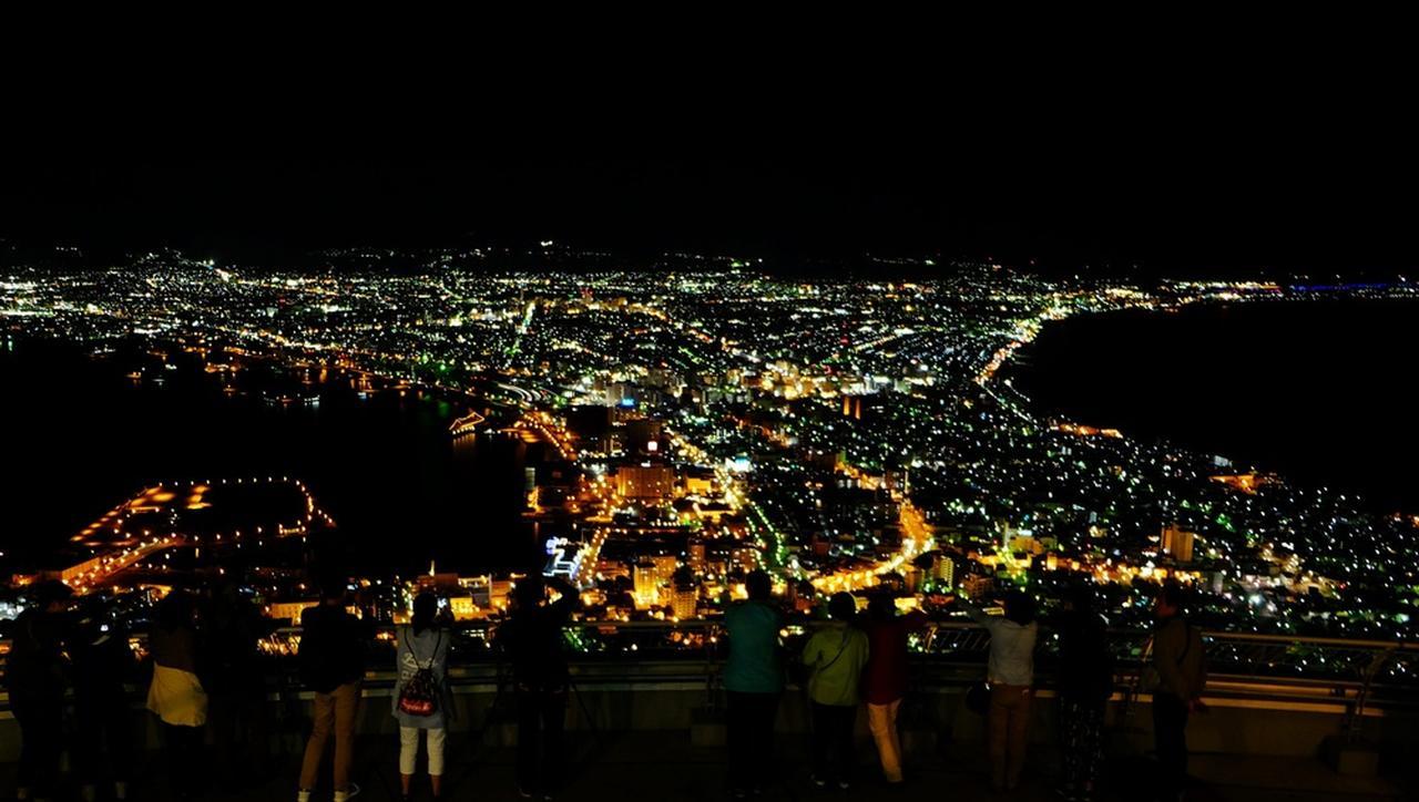 画像: 写真は9月8日20時撮影 写真提供/函館市公式観光情報サイト「はこぶら」