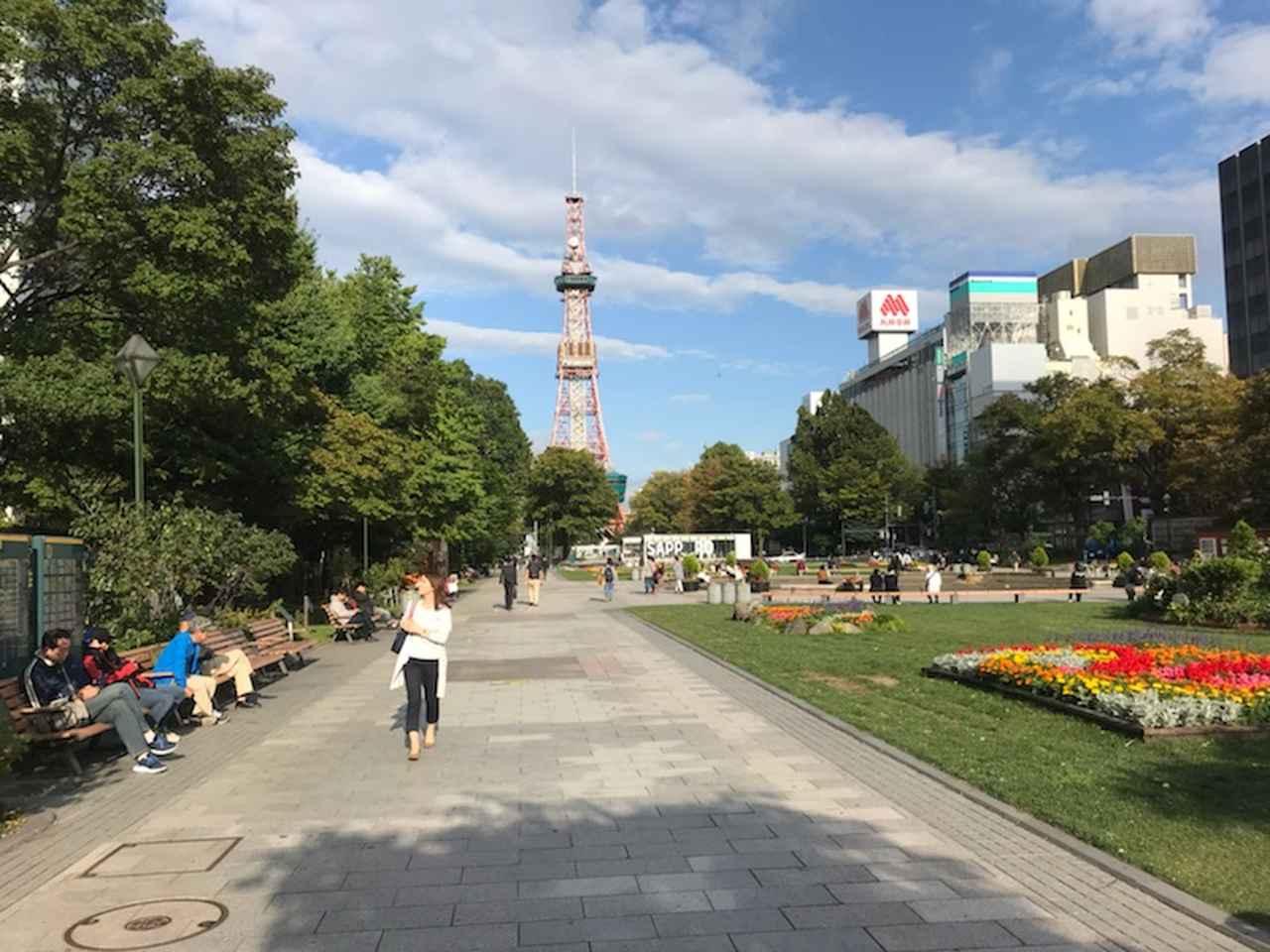 画像: 9月13日 札幌現地スタッフ撮影 札幌大通り公園