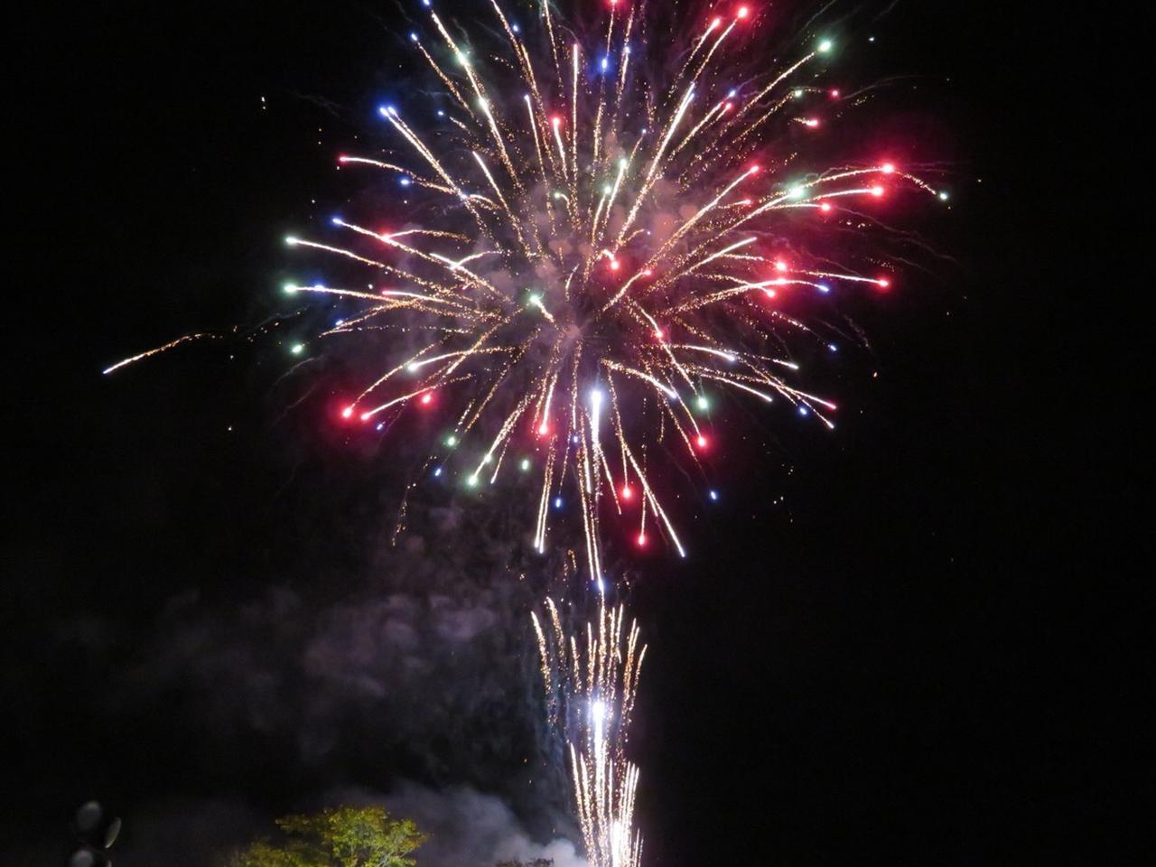 画像: イベントのフィナーレには花火が250発打ちあがりました!