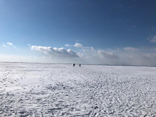 画像: 最終日 野付半島・氷平線ウォーク
