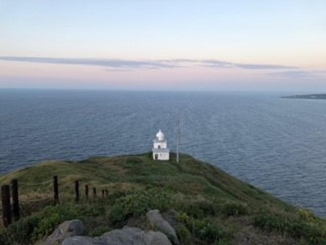 画像: 宿で自転車を借り、個人的にペシ岬を登りました。