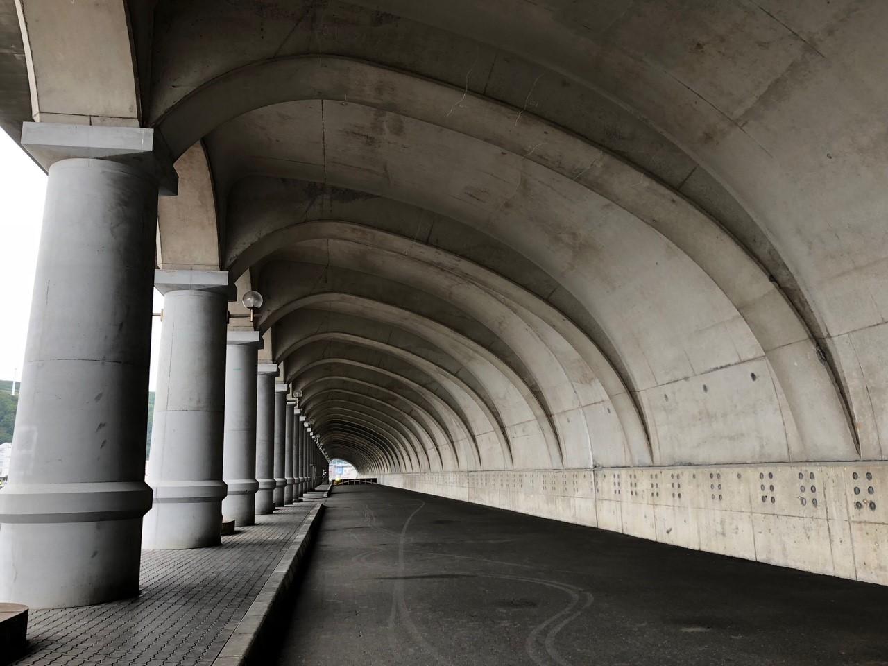 画像: 北海道遺産「北防波堤ドーム」