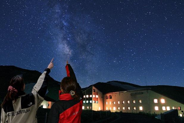 画像: 晴天時には満点の星空を眺める星空観賞会も開催