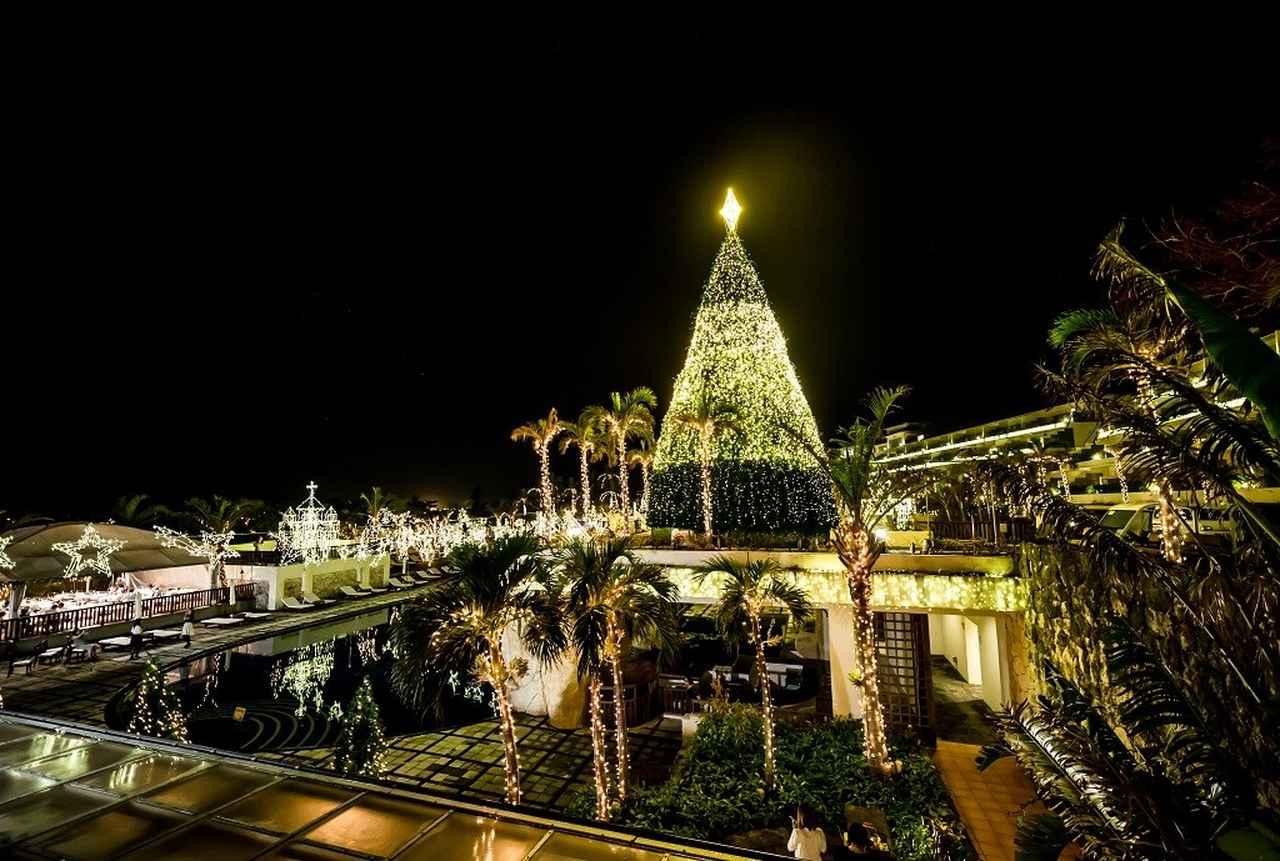 画像2: 【国内旅行・沖縄】カヌチャベイホテル&ヴィラズで南国のクリスマス体験♪冬の沖縄もおすすめです