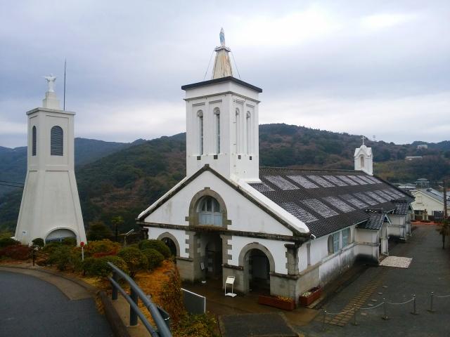 画像: 出津教会堂(富田撮影)