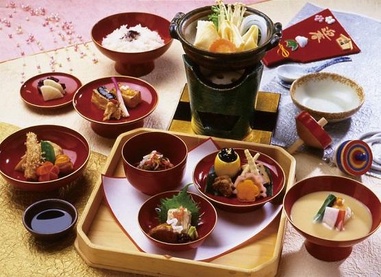 画像: 京のお正月料理のご昼食(イメージ)